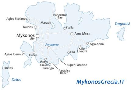 Santorini Mykonos Barcos De Santorini A Mykonos Y Atenas